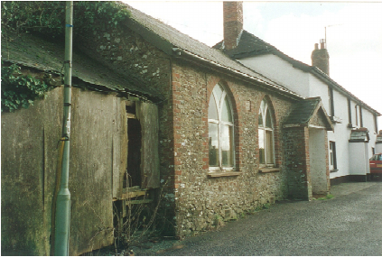 The original National School, later a reading room