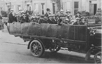 Village Outing,1922