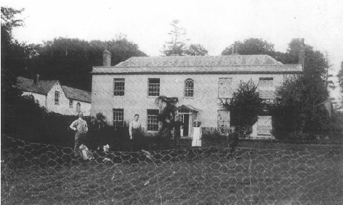 Rackenford Manor, about 1907