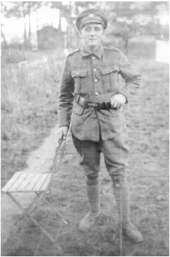 John Slader born at West Backstone, aged 18, Private 8th Devons. He returned to farm Canworthy and Higher Bulworthy, though always suffered from being gassed.