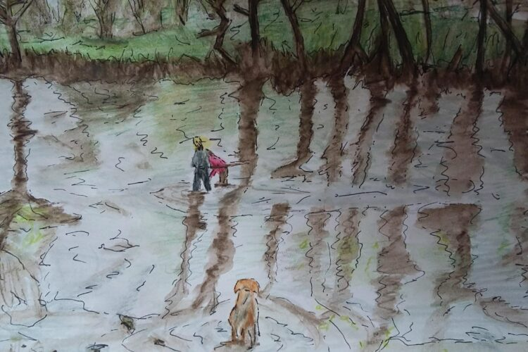 Watercolour by Elise Hopkins
